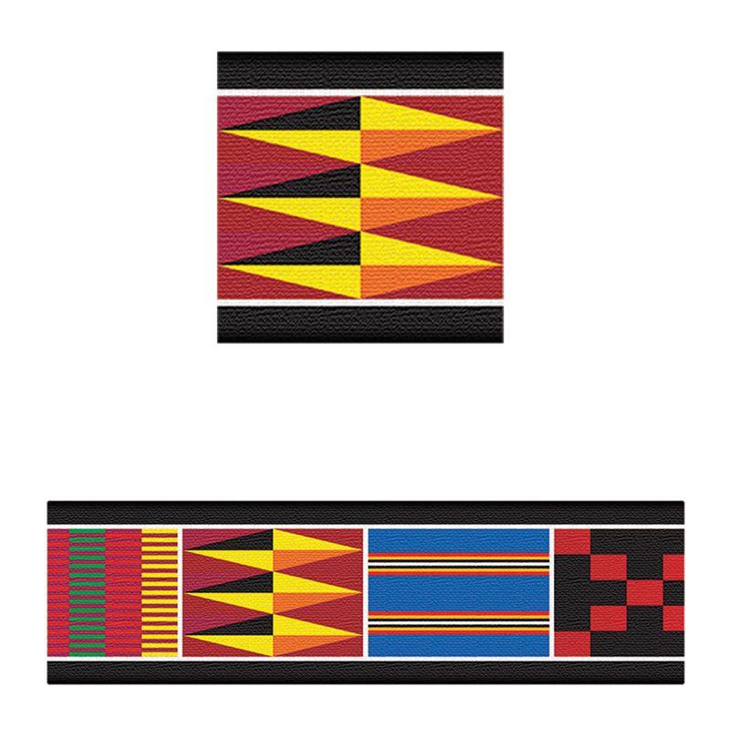 Bolder Borders African Weave