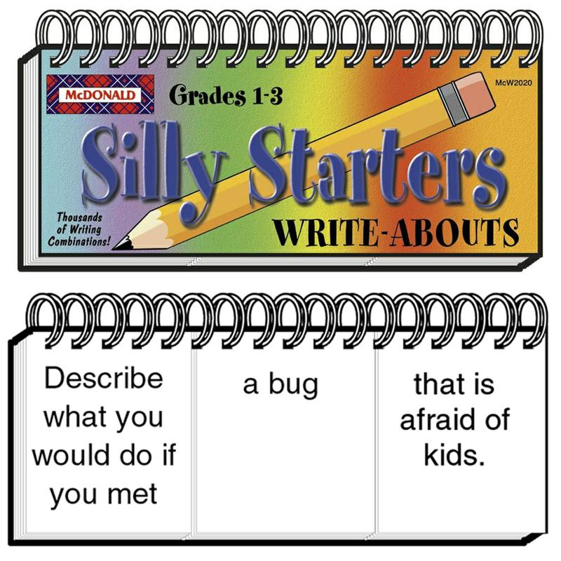 Write-Abouts Silly Starters Gr 1-3