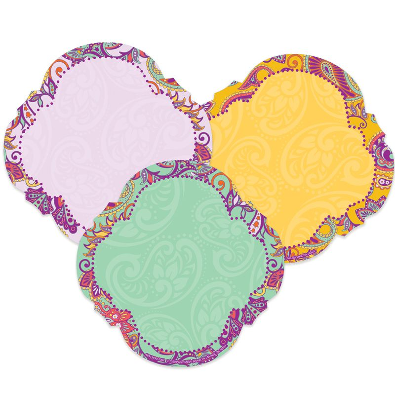Positively Paisley Paper Cut-outs