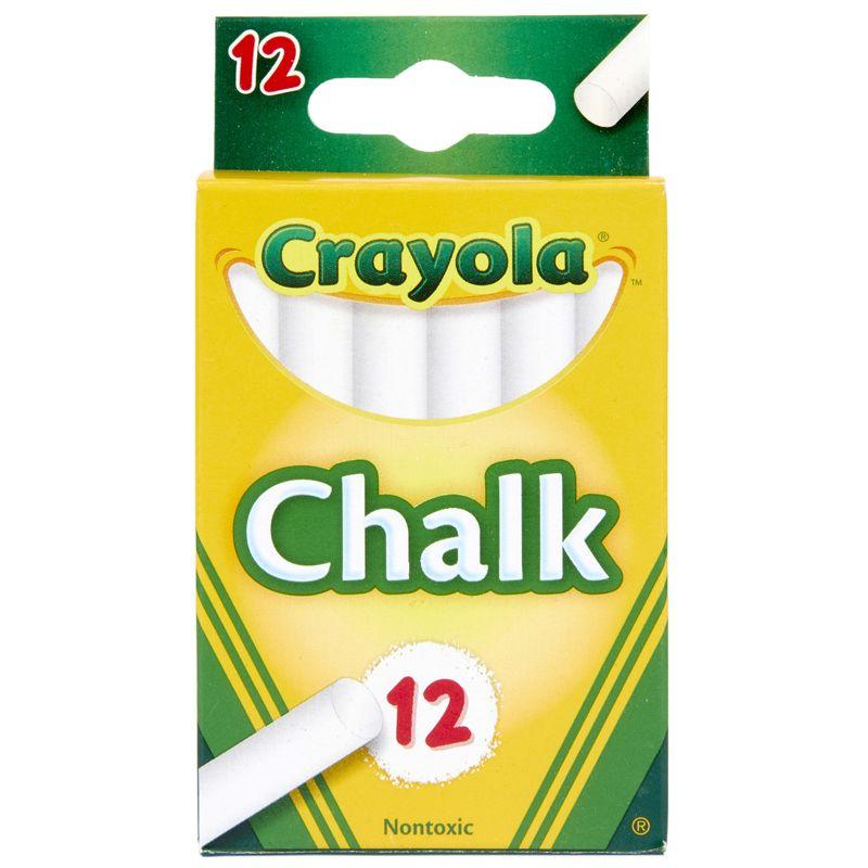 12 Sticks - Tuck Box White Chalk