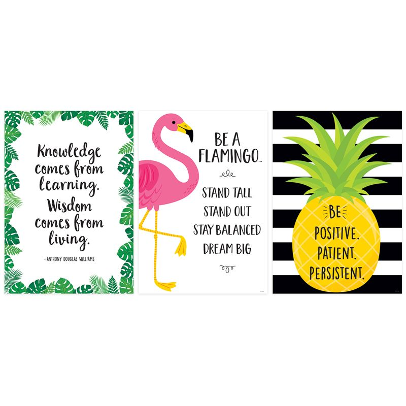 Palm Paradise Inspire U 3 Poster Pk
