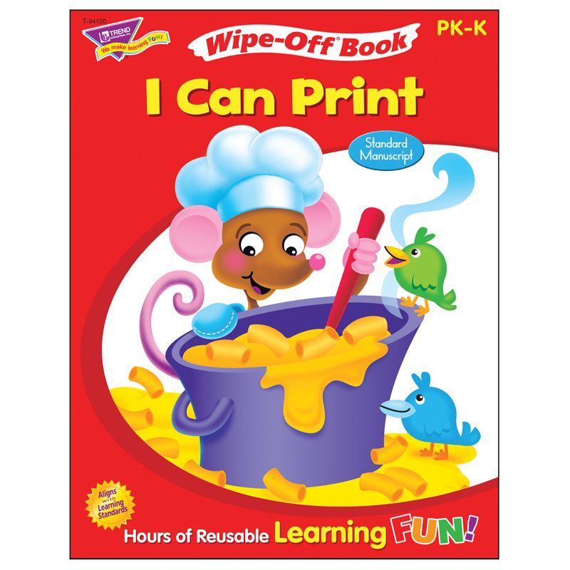 I Can Print 28Pg Wipe-Off Book