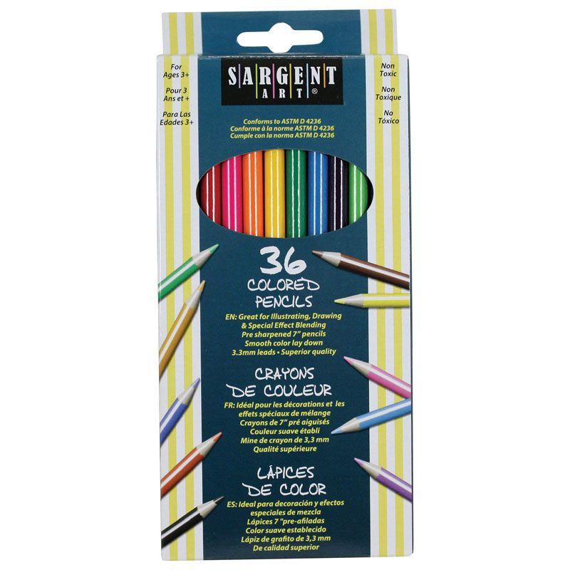 Sargent Art Colored Pencils 36 Colors