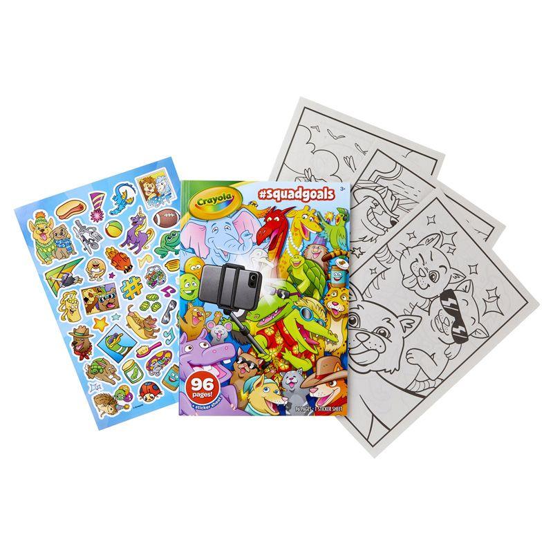 Squadgoals 96 Pg Coloring Book
