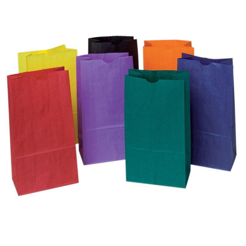 Bright Rainbow Bags