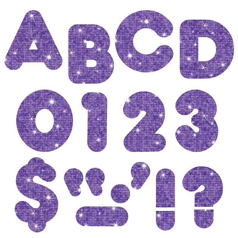 Ready Letters 4 Casual Purple Sparkle