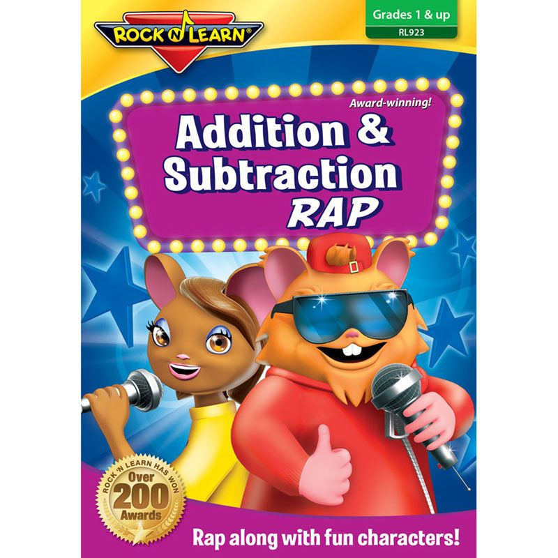 Addition & Subtraction Rap Dvd