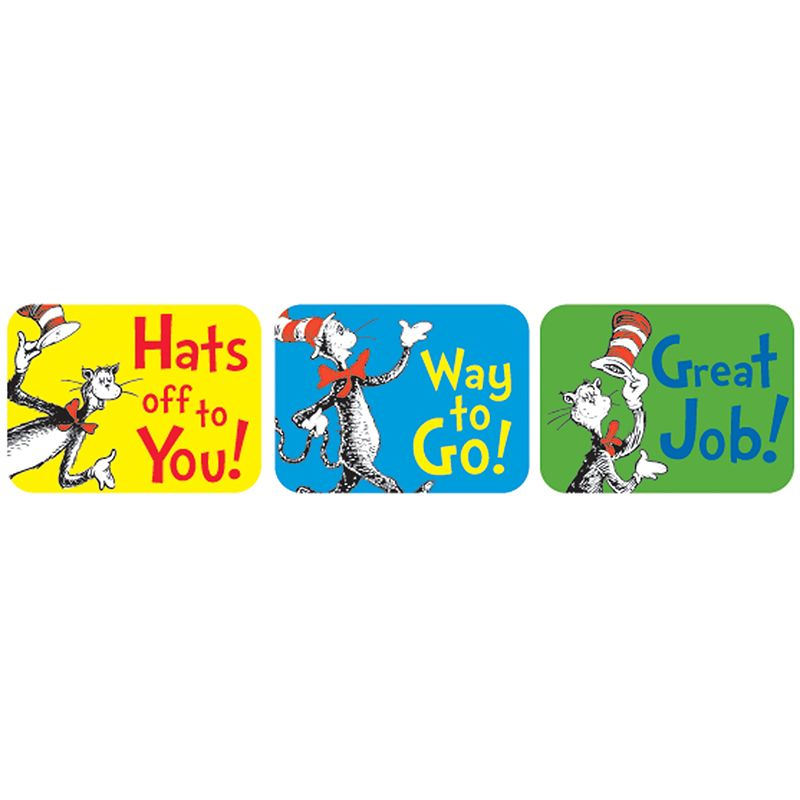 Cat In The Hat Success Stickers