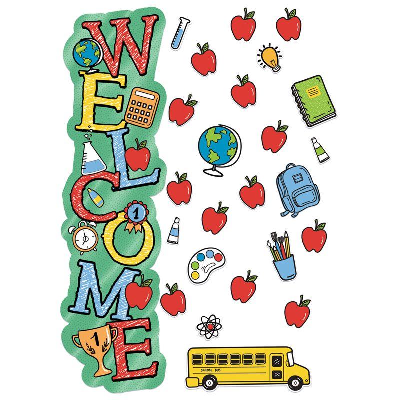 Back To School Welcome Door Decor Kit