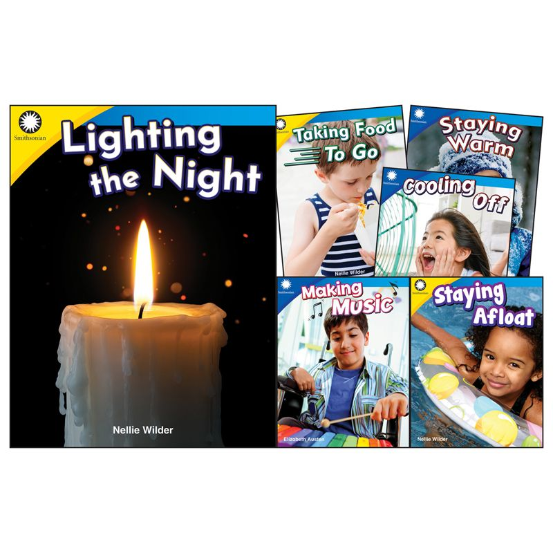 History & Culture Gr K-1 6 Book Set Smithsonian Informational Text