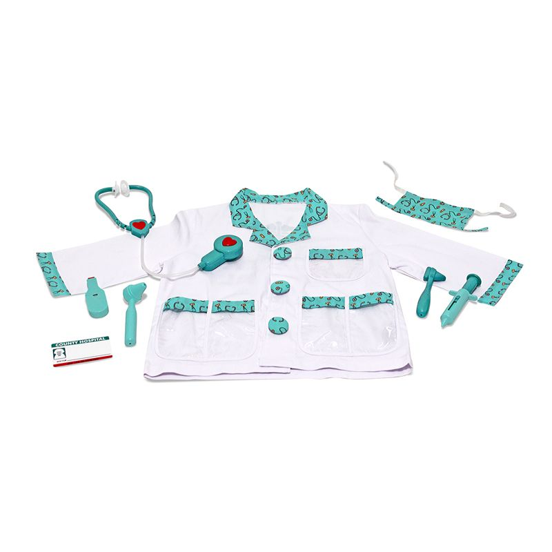 Role Play Doctor Costume Set