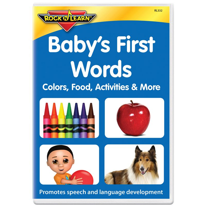 Babys First Words Dvd Colors Food Activities & More