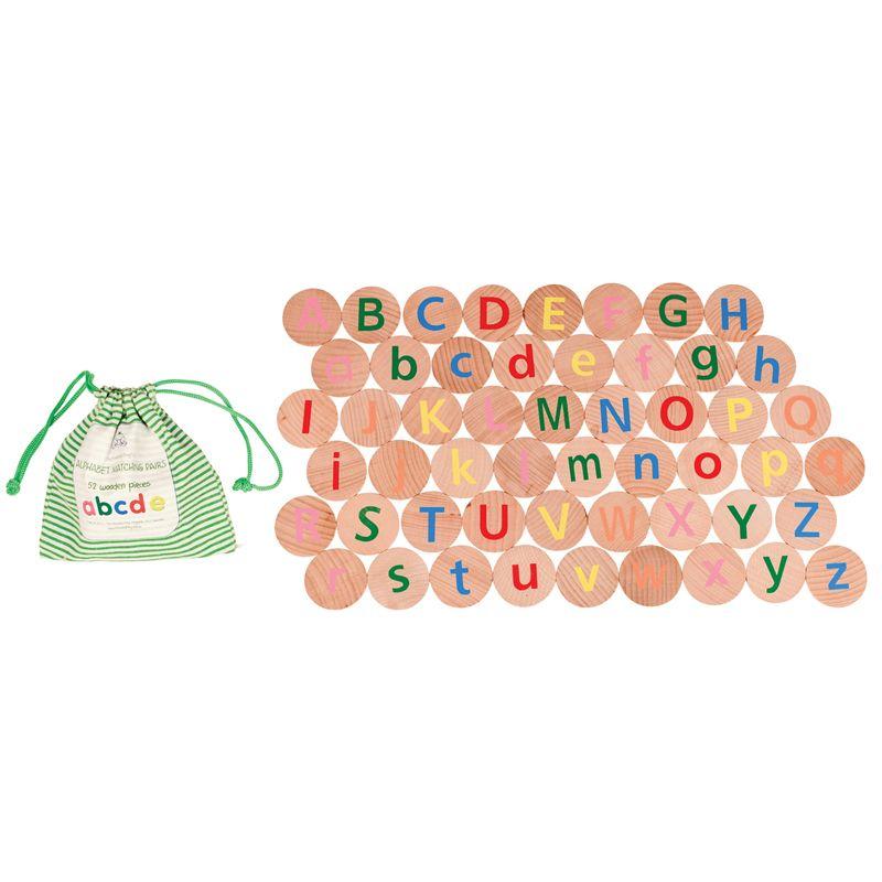 Matching Pairs Alphabet