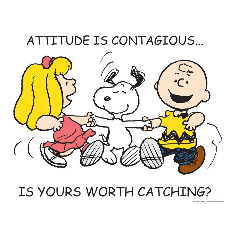 Peanuts Attitude 17X22 Poster
