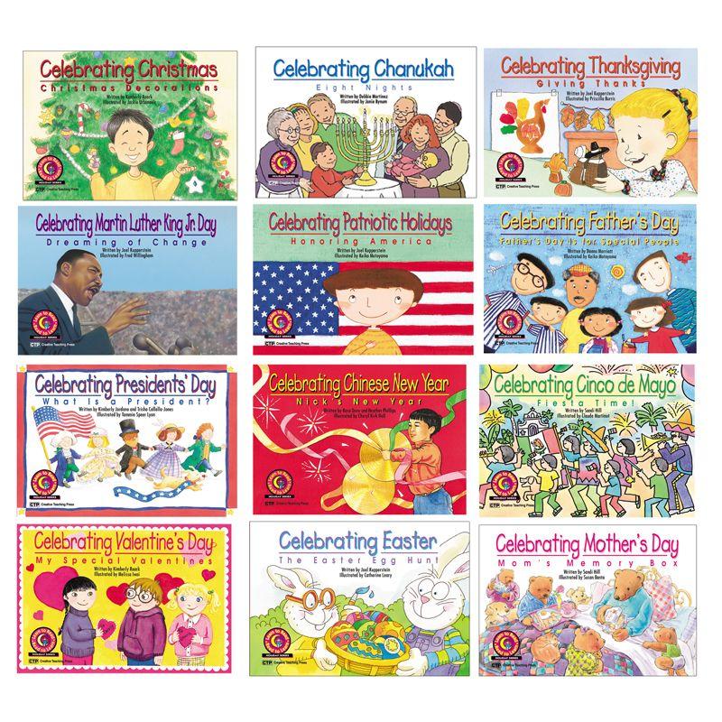 Holiday Series Variety Pk 12-Set Of Books 1 Ea 4522-4533