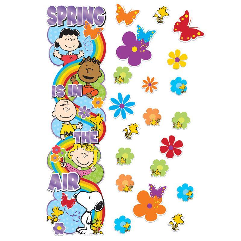 Peanuts Spring Door Decor Kit
