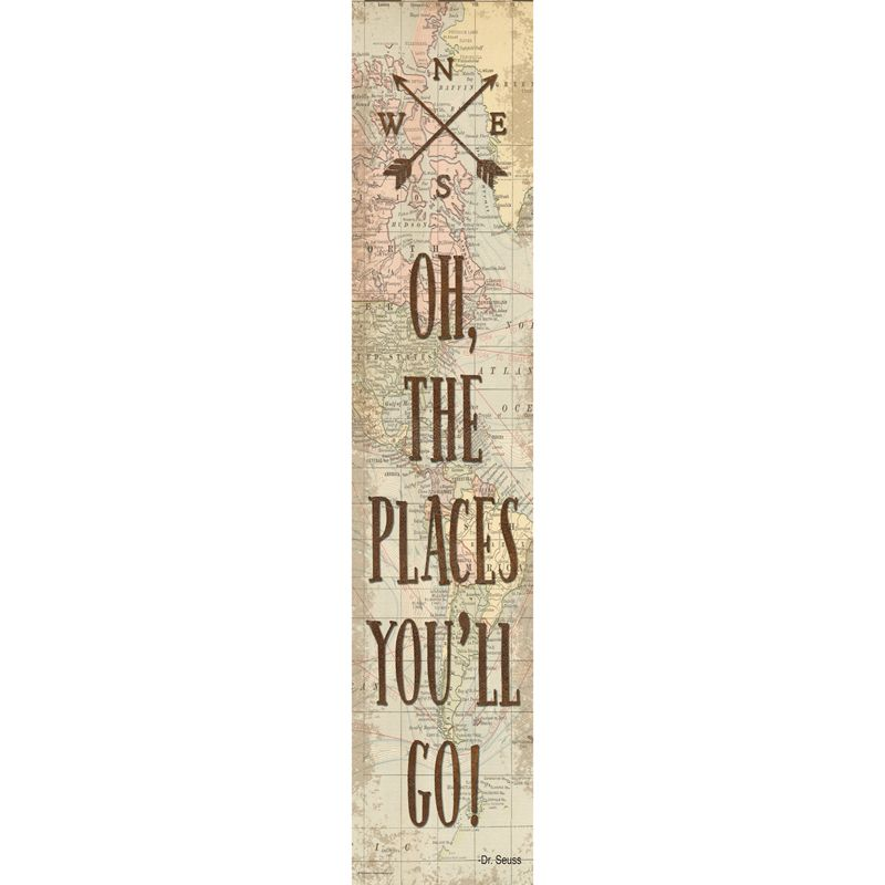 Oh The Places Youll Go Banner Travel The Map