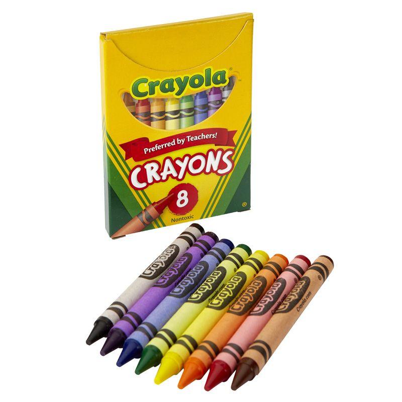 Crayola Large Size Tuck Box 8Pk