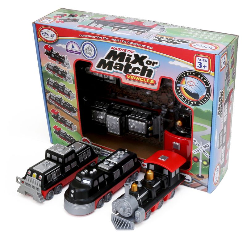 Magnetc Mix Or Match Vehicles Train