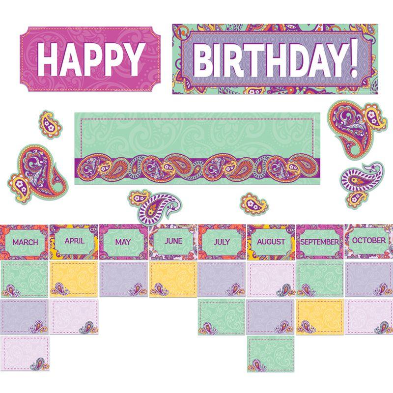 Postvly Paisley Birthday Mini Bb St