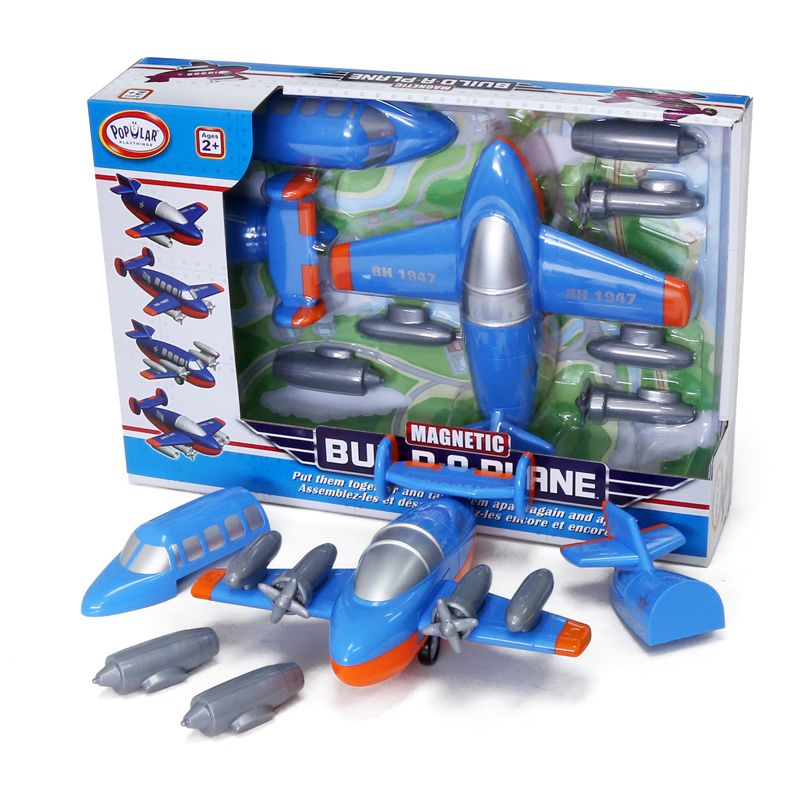 Magnetic Build A Truck Plane
