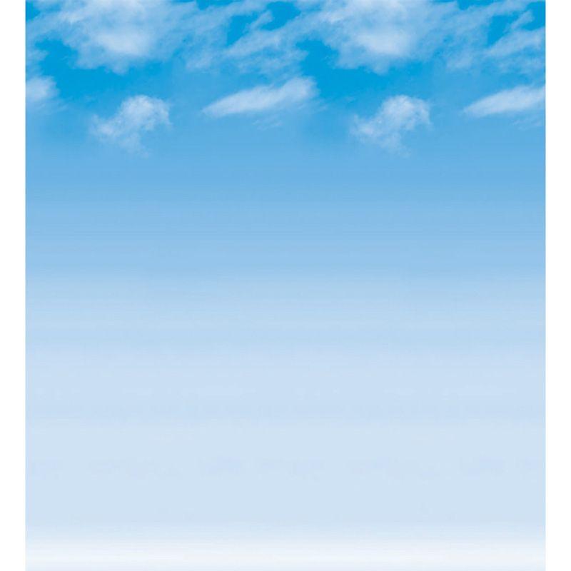 Fadeless 48X50 Wispy Clouds Roll