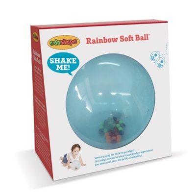 Rainbow Soft Ball