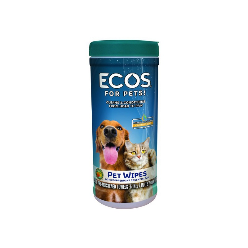 Earth Friendly Products Pet Wipes 35 Ct