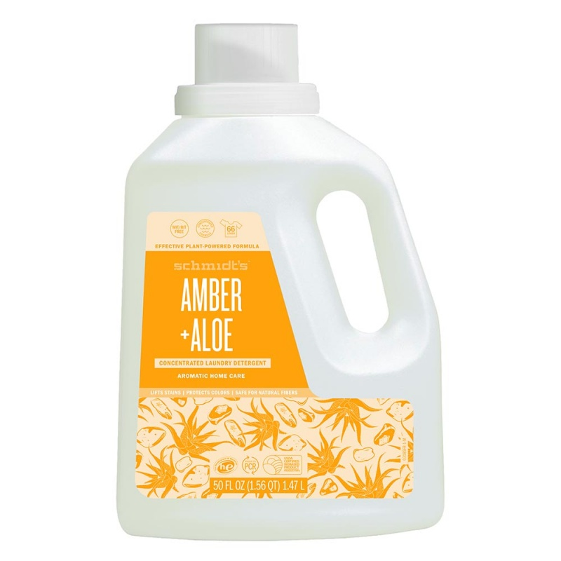 Schmidt's Amber + Aloe Concentrated Laundry Detergent 50 Fl. Oz