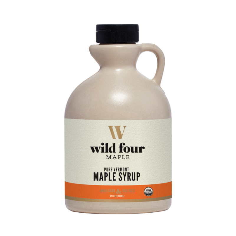 Wild Four Amber Rich Maple Syrup 32 Oz