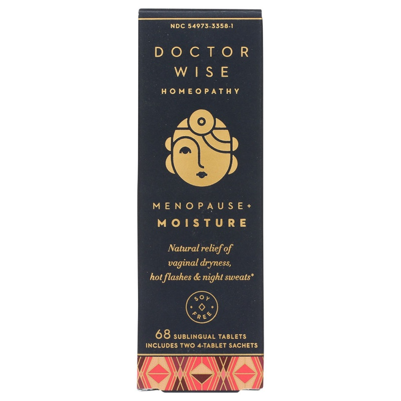 Hyland's Doctor Wise Menopause + Moisture 68 Tablets