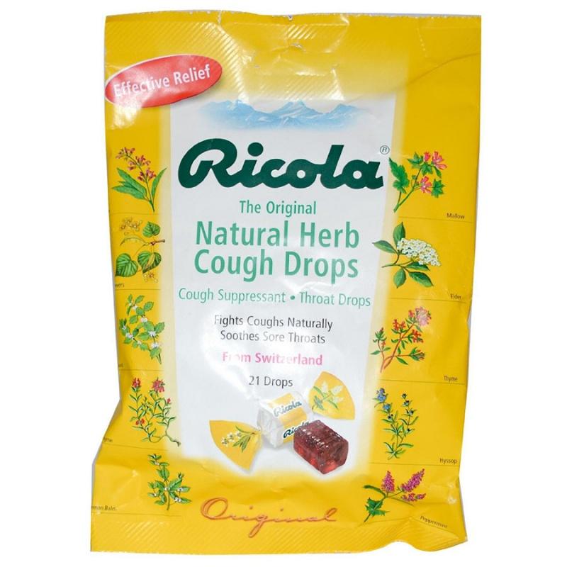 Ricola Herb Throat Drops 3 Oz.