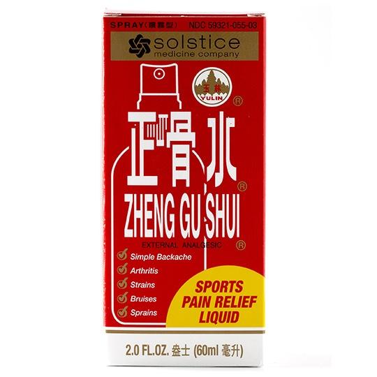 Solstice Zheng Gu Shui Analgesic Spray 2 Fl. Oz.