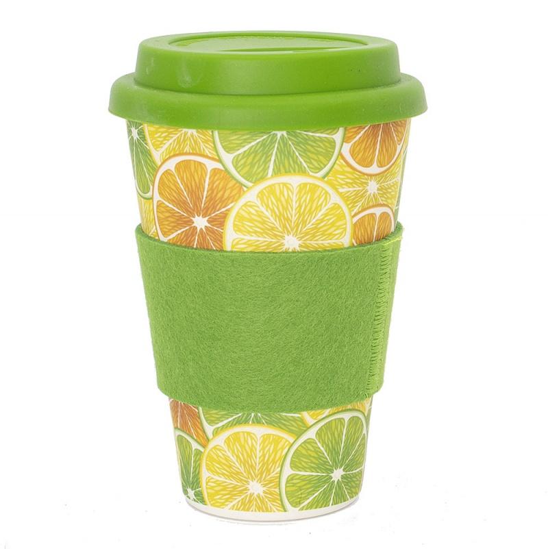 Greener Things Coffee Cup Lemon Lime