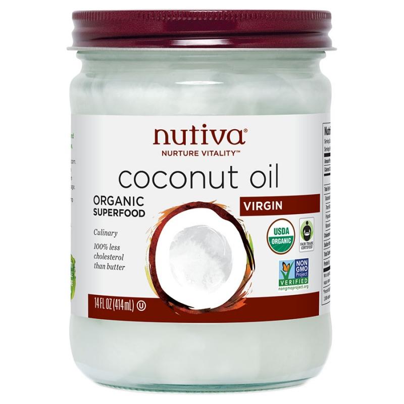 Nutiva Virgin Coconut Oil (6 Pack) 14 Oz.
