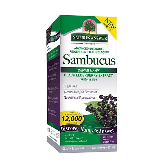 Nature's Answer Super Concentrated Elderberry Supplement 16 Fl. Oz.