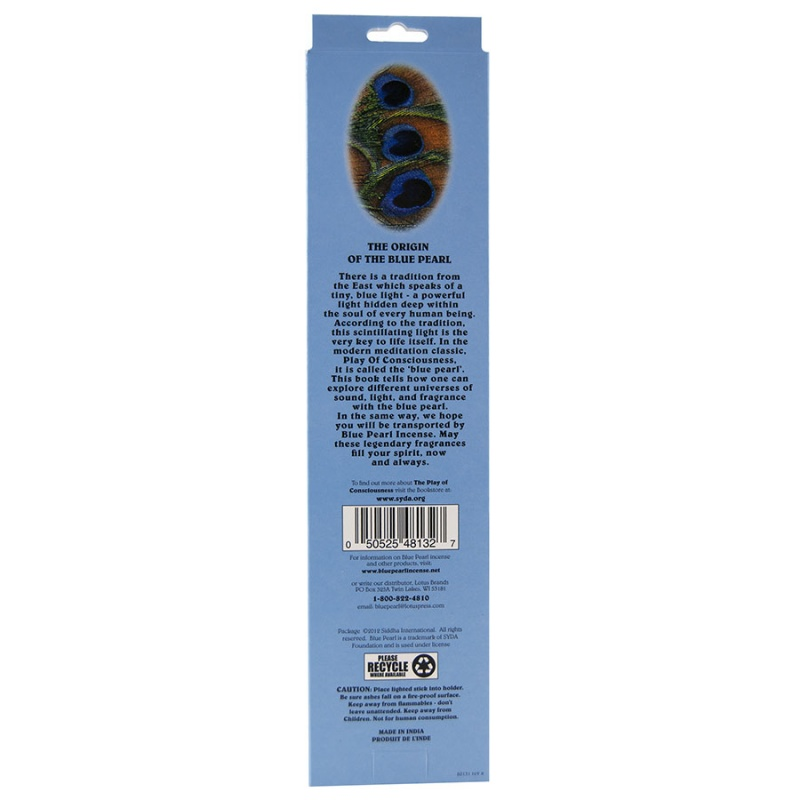 Blue Pearl Jumbo Classic Champa Incense 100 Grams
