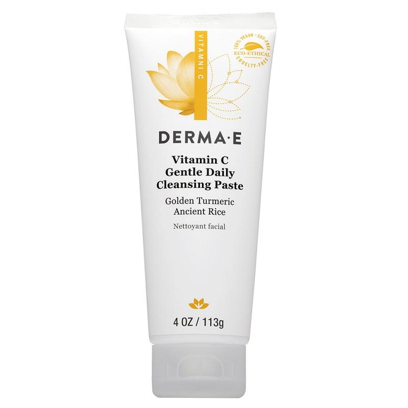 Derma E Vitamin C Daily Brightening Gentle Exfoliating Cleanser 4 Fl. Oz