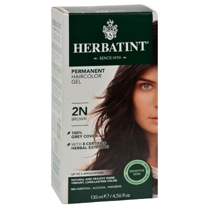 Herbatint 2 N Brown Hair Color Gel 4.5 Fl. Oz