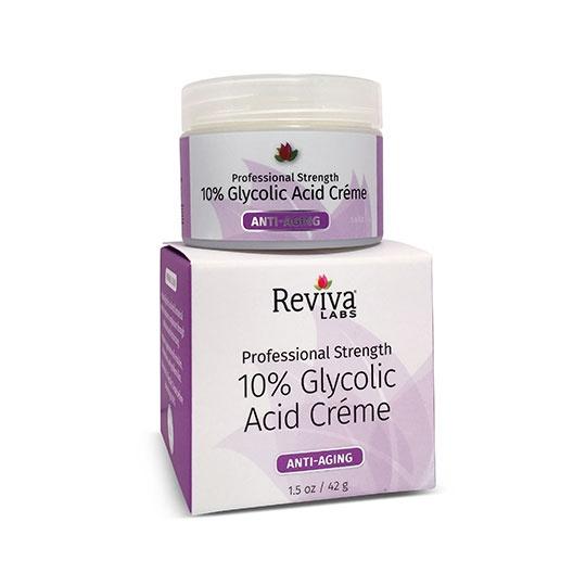Reviva Labs 10% Glycolic Acid Cream 1.5 Oz.