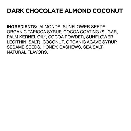 Caveman Foods Dark Chocolate Almond Coconut Nutrition Bars 12 (1.4 Oz.) Bars Per Box
