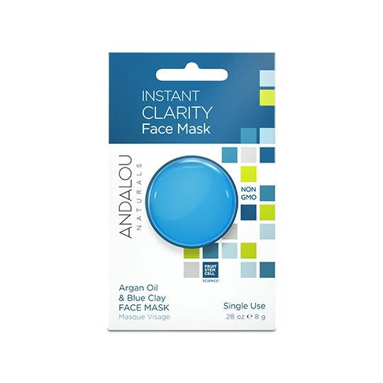 Andalou Naturals Beauty 2 Go Clarity Face Mask Pods 0.28 Oz.