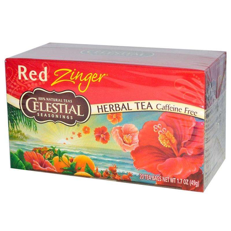Celestial Seasonings Red Zinger Tea 20 Tea Bags