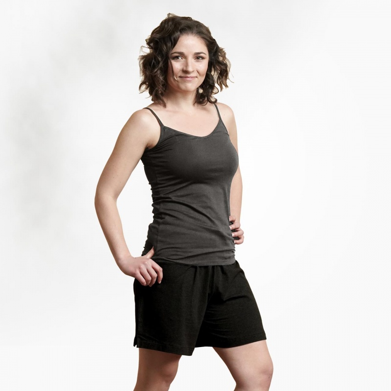 Maggie's Functional Organic X X- Large Heather Grey Camisole