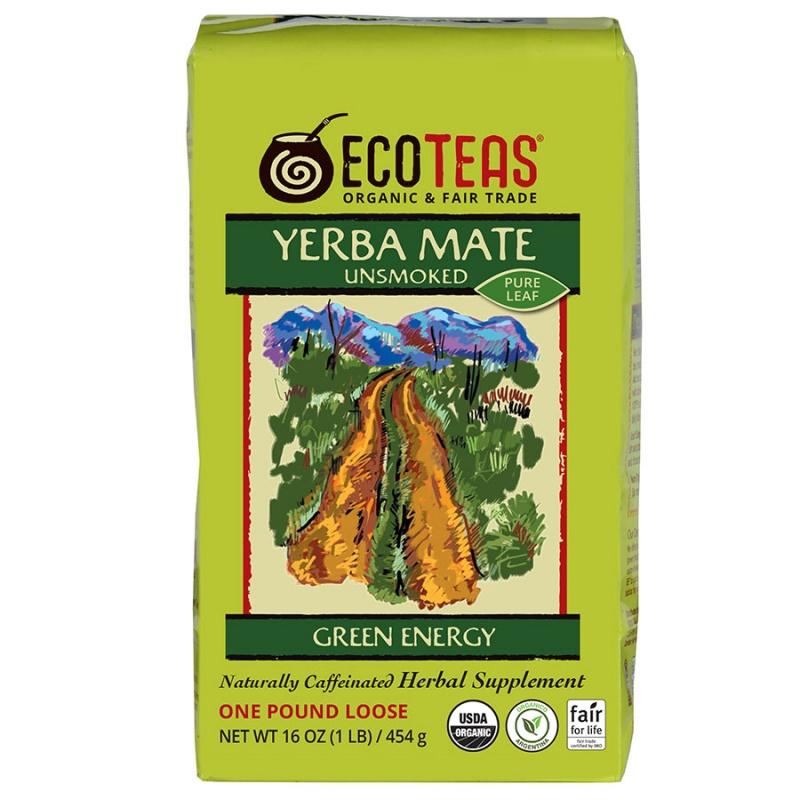 E C O T E A S Yerba Mate Tea 1 Lb