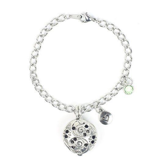 Aurora Diffuser Bracelet 7.5 Chain