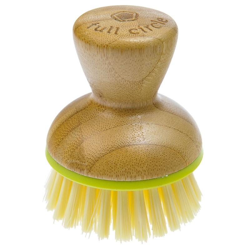 Full Circle Bamboo & Green Bubble Up Replacement Dish Brush