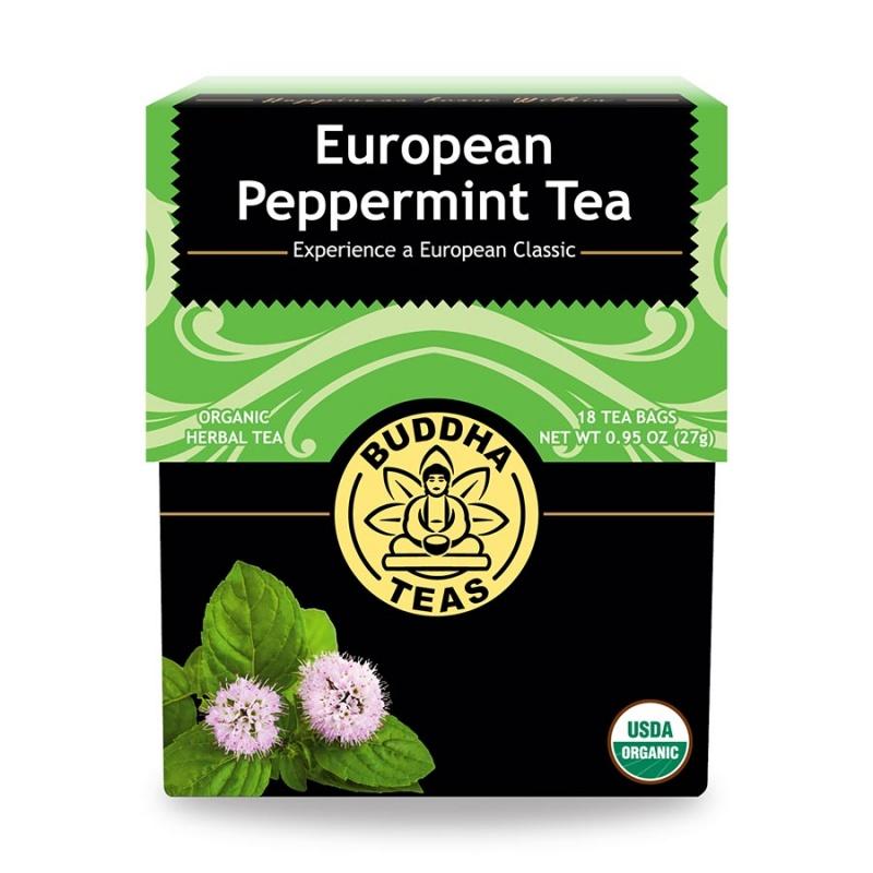 Buddha Teas Organic European Peppermint 18 Tea Bags