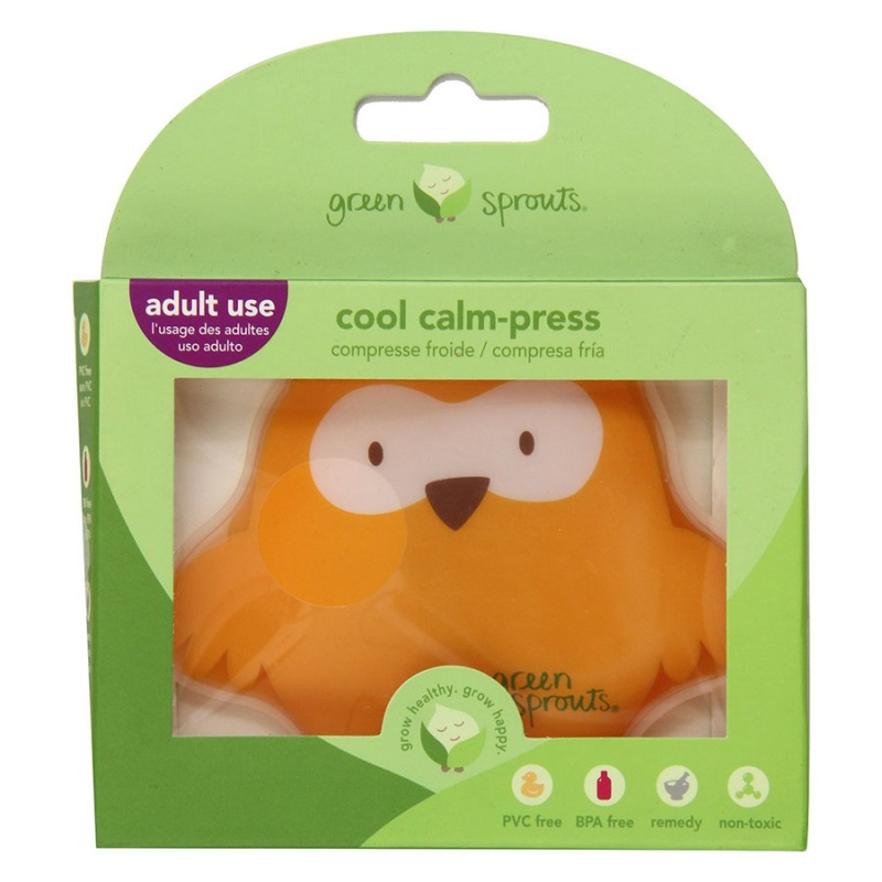 Green Sprouts Owl Cool Calm-press
