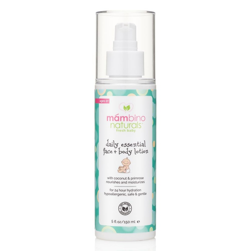 Mambino Organics Daily Essential Baby Face And Body Lotion 5 Oz
